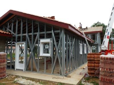 les avantages d'une maison à ossature métallique - Avantage Inconvenient Maison Ossature Metallique